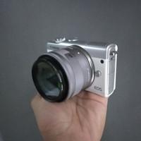canon m100 bekas kamera
