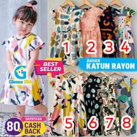 BAJU PAKAIAN DRES DRESS ANAK BAYI PEREMPUAN 1 2 3 4 5 TAHUN TERLARIS ! - Motif 2, 4
