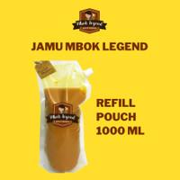 Jamu Beras Kencur/Kunyit Asam/Wedang jahe/Kunyit Tawar 1000 ML Pouch