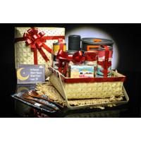 Foodstocks Delight Hampers - Hampers Exclusive Premium - Besek Anyaman