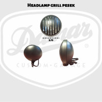 Headlamp Grill 5,75inc Chopper