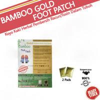 Koyo Kaki Bamboo Gold / Bambo Foot Patch / Bambu Kiyome Original