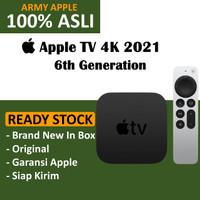 Apple TV 4K 2021 6 6th Generation 32GB 64GB New Original Garansi Resmi - 32GB