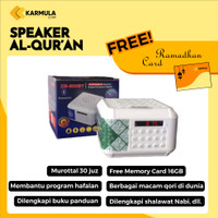 Speaker Murrotal Quran 30 Juz Lengkap dengan Memori dan Buku