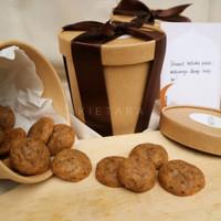 Ramadhan/Eid Mubarak Hampers Belgian Choco Cookie Bites Edition - Small package