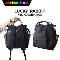 Lucky Rabbit KUKI Camera Bag Backpack 150 Tas Kamera