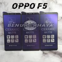 ANTI GORES-OPPO F5-MATTE BLUE CERAMIC ANTIBLUE