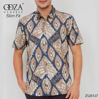 Baju Kemeja Batik Pria Dewasa Hem Solo Lengan Pendek Eksklusif Formal