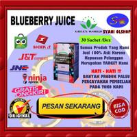 Green World Blueberry Juice - Melancarkan BAB - Mengobati Wasir -