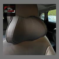 Bantal Leher Kulit Mobil Neck Pillow Memory Foam Premium Quality