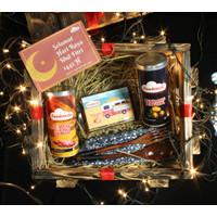 Foodstocks Delight Hampers - Hampers Exclusive Premium - Peti Kemas