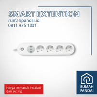 Smart Extention / Sambungan Kabel/ Multi Colokan Pintar dan Instalasi