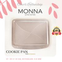 SIGNORA MONNA BAKEWARE - Cookies Pan Small Loyang Kue Kering Kastangel