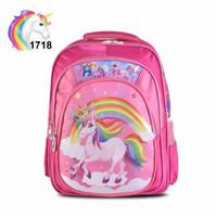 Tas Ransel Cartoon 1718(Girls)16 - unicorn