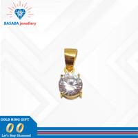 Liontin desi emas 700 asli / bandul kalung emas original