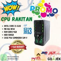 PC RAKITAN INTEL CORE I3 2120 RAM 4GB HDD 500GB