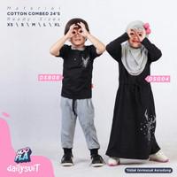 Baju Anak Setelan Celana Umur 1-10 Tahun DAILY SUIT BOY - Hitam, L