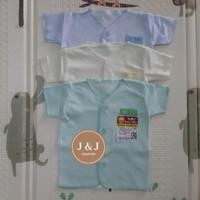 Baju Bayi Polos Tgn pendek TARA (0-3 month)
