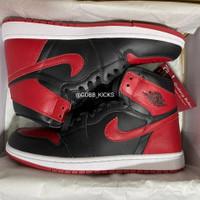 Air Jordan 1 Banned Bred Black Red BNIB PERFECT PAIRS