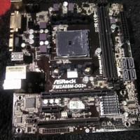 Motherboard asrock fm2a68m-DG3+, Processor Amd Athlon x4 860k