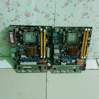 mobo asus p5kpl ddr2 + prosesor dual core
