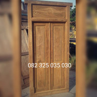 Rumah Gebyok Jawa Jati Minimalis, Pintu Gebok Jepara Kayu Murah