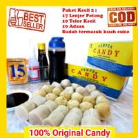 Pempek Palembang Candy Asli Paket C Empek Empek mpek mpek