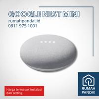Google Nest Mini + Instalasi