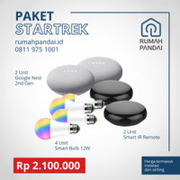 Paket Startrek Instalasi dan produk Smart Home IoT
