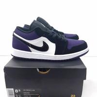 Nike Air Jordan 1 Low Court Purple BNIB 100% PK ORIGINAL