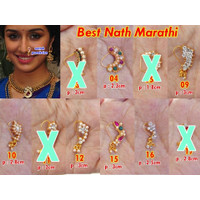 Nath Marathi Jepit page 2/ Anting Hidung Nosering India by Indired