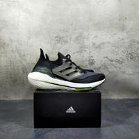 Sepatu Adidas Ultra Boost 21 Black Solar - BLACK GREY, 39