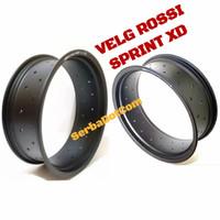 Velg Rossi Rossy XD 450 500 600 Ring 17 36H Black Original not tdr tk