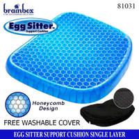 Egg Sitter Alas Duduk Silikon Gel Bantal Alas Duduk Premium