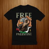Baju kaos pria palestine kaos palestin