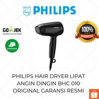 Philips Hair Dryer Lipat Mini BHC 010 Pengering Rambut Kecil Low Watt