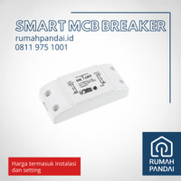 Smart Breaker MCB 10A WIFI dan INSTALASI