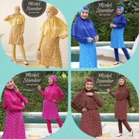 baju renang wanita muslimah M- XL