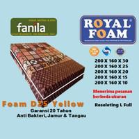 ROYAL FOAM D25 Kasur Busa no.2 tebal 30/25/20/15 cm