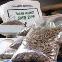 Makanan Kelinci SKR 214 repack 1 kg /Pelet Pakan Kelinci