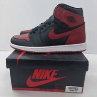 Air Jordan 1 High OG Banned Bred Black Red - BRAND NEW IN BOX