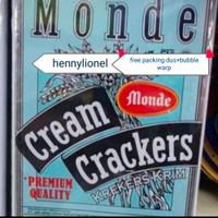 Monde biskuit kaleng-cream crackers 1.2kg