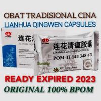 Lian hua Qing wen Capsule Obat Anti Virus Original BPOM PT intra Aries