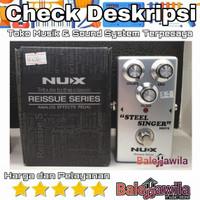 Effect Gitar Steel Singer Drive Nux Efek StompBox NUX Steel Singer Ori