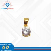 Liontin desi emas muda asli / bandul kalung emas original