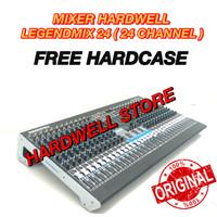 MIXER HARDWELL 24 CHANNEL LEGENDMIX 24 ORIGINAL FREE HARDCASE