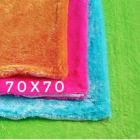 70x70 sarung bantal kursi sofa   sarung bantal lantai jumbo besar - Putih