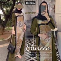 Baju Gamis Dress Wanita Cewek Perempuan Syar'i Mieux Ori Muslim