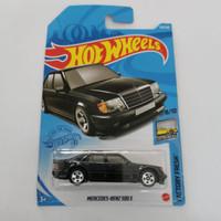 Hot Wheels MERCEDES-BENZ 500 E Hitam Mercy Mercedes Benz Hotwheels