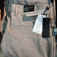 The Executive Formal Ankle pant Grey Ori
